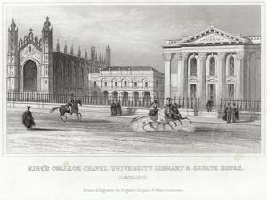 King's College Chapel, University Library and Senate House, Cambridge