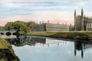 King's College, King's College Chapel and Clare College, Cambridge, Early 20th Century