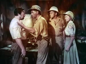 KING SOLOMON'S MINES, 1950 directed by COMPTON BENNETT Stewart Granger / Richard Carlson / Deborah