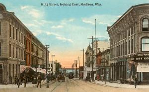 King Street, Madison, Wisconsin