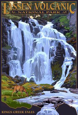Kings Creek Falls - Lassen Volcanic National Park, Ca