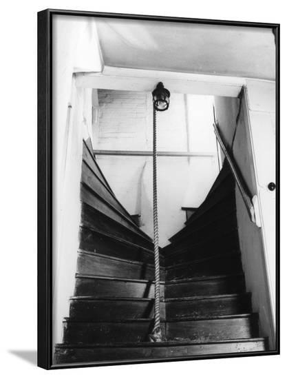 Kingsley's Staircase--Framed Photographic Print