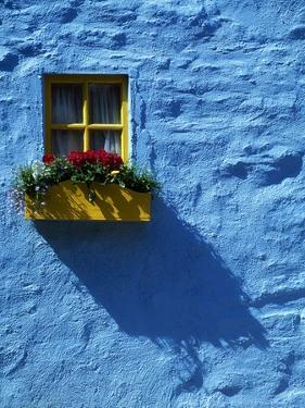 Kinsale, Co Cork, Ireland; Cottage Window (photo)