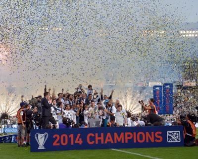2014 MLS Cup Final: Dec 7, New England Revolution vs LA Galaxy by Kirby Lee