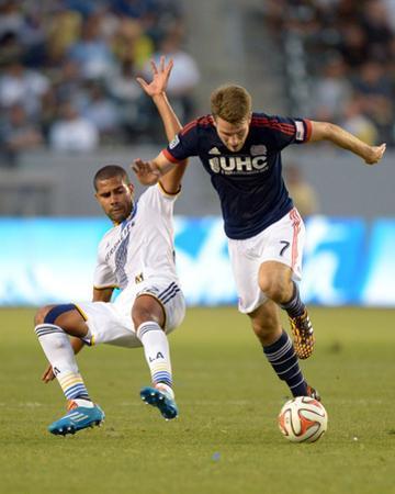 Jul 16, 2014 - MLS: New England Revolution vs Los Angeles Galaxy - Patrick Mullins, Leonardo