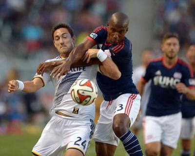 Jul 16, 2014 - MLS: New England Revolution vs Los Angeles Galaxy - Stefan Ishizaki, Jose Goncalves