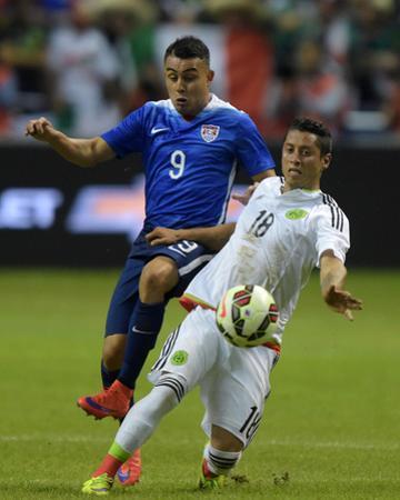 Soccer: Mexico Vs USA by Kirby Lee