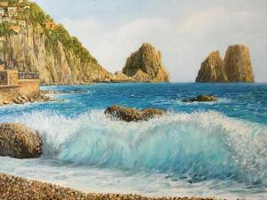 Faraglioni On Island Capri by kirilstanchev