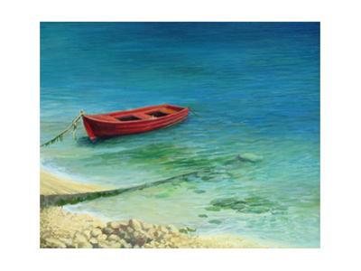 Fishing Boat In Island Corfu by kirilstanchev