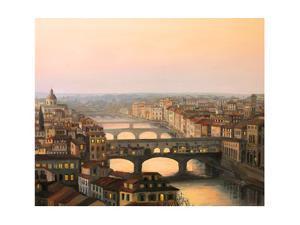 Florence Ponte Vecchio by kirilstanchev
