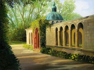 In The Gardens Of Sanssouci by kirilstanchev