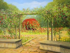 In The Rose Garden by kirilstanchev