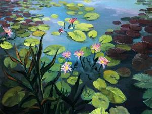 Lotus Flowers by kirilstanchev