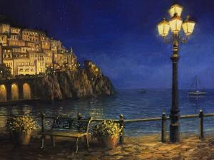 Summer Evening In Amalfi by kirilstanchev