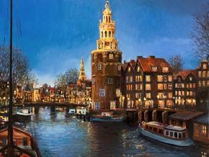 The Lights Of Amsterdam by kirilstanchev