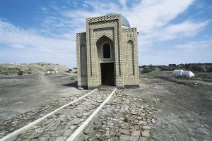 Kirk Mulla Mausoleum, Ashgabat, Turkmenistan