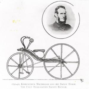 Kirkpatrick Macmillan and His Dandy Horse