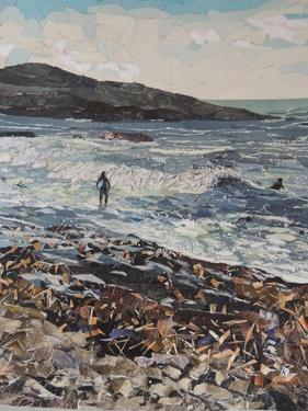Body Boarders - Wembury by Kirstie Adamson