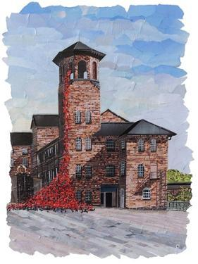 Weeping Window The Silk Mill Derby by Kirstie Adamson