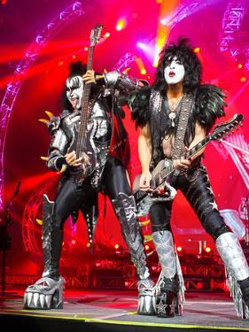KISS - 40th Anniversary Tour Live - Simmons and Stanley