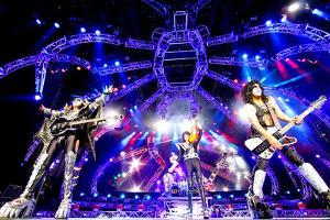 KISS - 40th Anniversary Tour Live - Simmons, Stanley, and Thayer