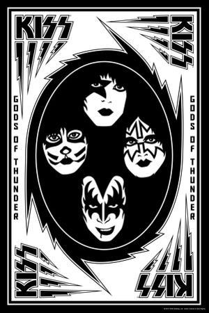 KISS - Bolts (Black and White)