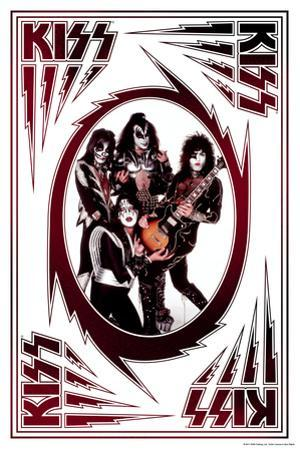 KISS - Bolts (Red and Black)