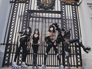 KISS - Buckingham Palace 1976