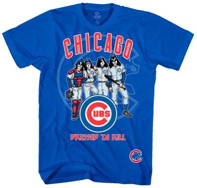 KISS - Chicago Cubs Dressed to Kill