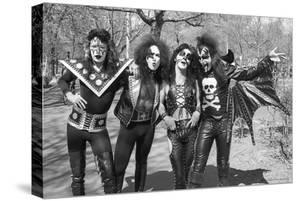 KISS - Group Early Years (Black and White) 1974