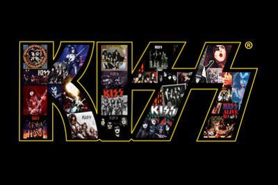 KISS Logo Collage