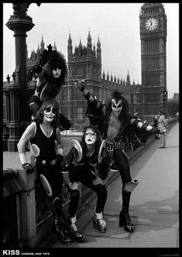 Kiss- London May 1976