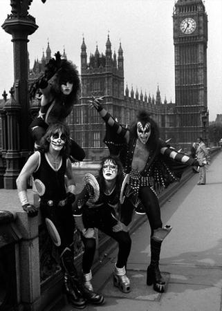 Kiss- London May 1976