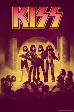 "KISS - ""Love Gun"" - Purple"