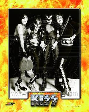 Kiss- Paul Stanley, Peter Criss, Gene Simmons, & Ace Frehley