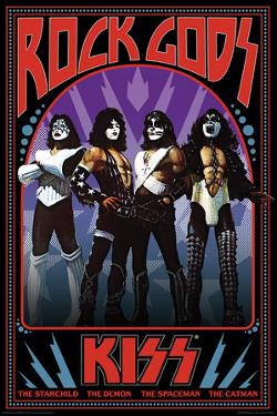 Kiss - Rock Gods