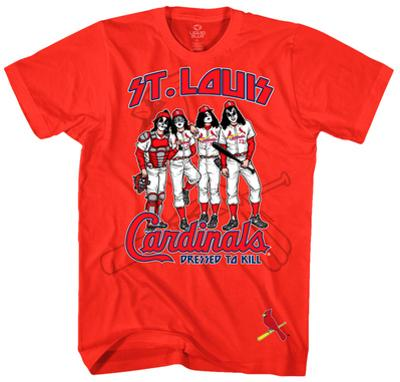 KISS - St. Louis Cardinals Dressed to Kill
