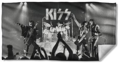 Kiss - Staged Beach Towel