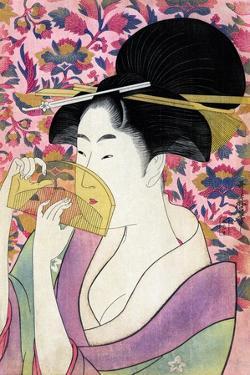 Kushi (Comb) by Kitagawa Utamaro