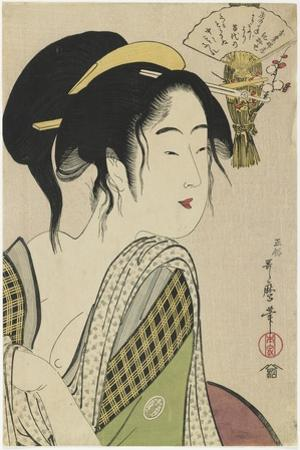 Love for a Farmer's Wife, 1795-1796 by Kitagawa Utamaro