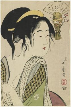 Love for a Farmer's Wife, 1795-1796 by Kitagawa Utamaro