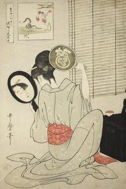 Takashima Ohisa, C.1795 by Kitagawa Utamaro