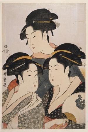 Three Beauties of the Present Day (Toji San Biji)