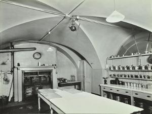 Kitchen at Admiralty House, Westminster, London, 1934