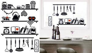 Kitchen Board Window Sticker Decal
