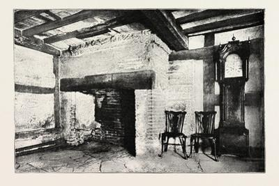 Kitchen of the House in Which Shakespeare Was Born