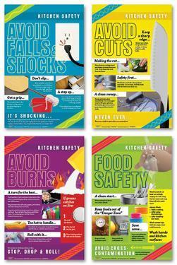 Kitchen Safety Poster Set