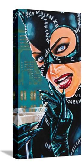 Kitty Martini-Mike Bell-Stretched Canvas Print