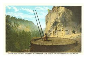 Kiva at Bandelier Park, New Mexico