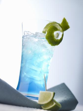"""Blue Light"" (Cocktail)"